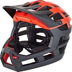 Kali Invader SLD Casco, matt red/black